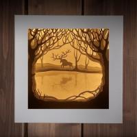 Светильник-ночник Дух леса
