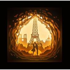 Светильник-ночник Париж