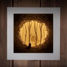 Светильник-ночник Сказка