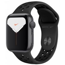 Apple Watch Nike Series 5, 40 мм, Серый Космос, Спортивный Ремешок Nike